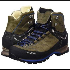 Men's Salewa Leather Utility Boots